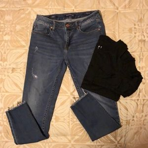 Vigoss (Stitch Fix) distressed skinny denim 27